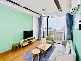 2BR LANDSCAPE SeaView 75m²APT(34th)➖1'→MYKHE Beach