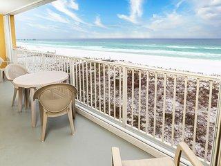 Balcony -  Gulf Dunes 408 Fort Walton Beach Okaloosa Island Vacation Rentals
