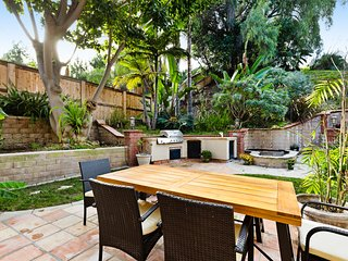 Modern Home w/ enclosed yard, gas grill & plenty of charm - drive to the beach!