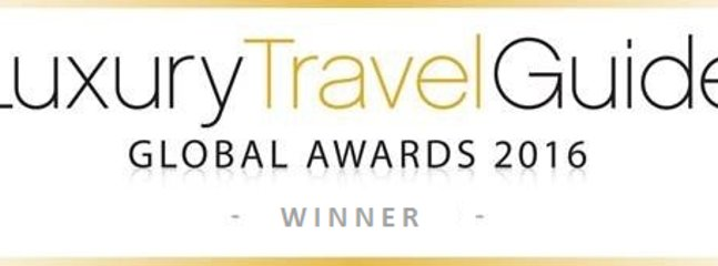 We were put in for this  by our guests   and delighted to win the category for this global award.