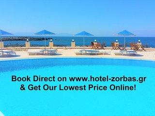 Zorbas Beach Village Hotel (Two Room Apartment)
