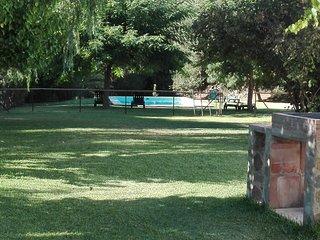 Barbacoa, jardin