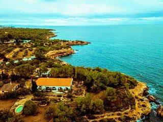 Lacasadelmar. Playa de Santes Creus. Ametlla de Mar. Tarragona