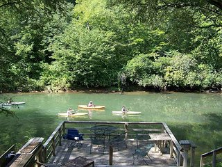 TOCCOA FISH TRAP- A FISHERMAN`S DREAM CABIN.DOG FRIENDLY,TOCCOA RIVER