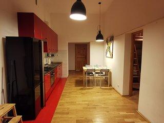 3 bedroom apartment close to the Vistula River