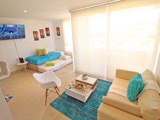 Super nuevo apartamento, comodo y vista al mar
