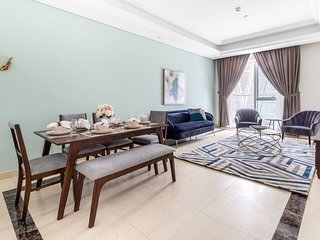 Regal & Modern 2BR With Study in Downtown Dubai - Sleeps 5!