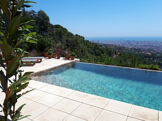 Magic Place in Barcelona with private pool and view