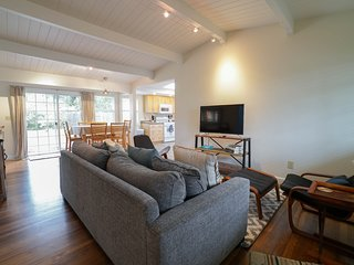 Sunny Brae home w/ a private deck, hot tub, & enclosed yard - close to town