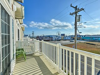 NEW! Wildwood Townhome: Walk to Boardwalk + Beach!