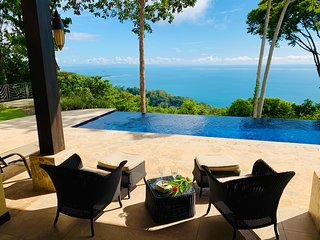 Incredible Ocean Views, Private Pool, Fully Equipped Villa in a Gated Community