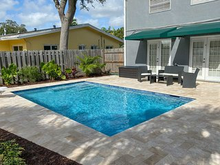 Waterfront Home w/Saltwater Pool, 10 Mins to Beach