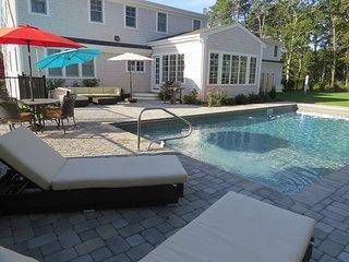 Heated saltwater pool!