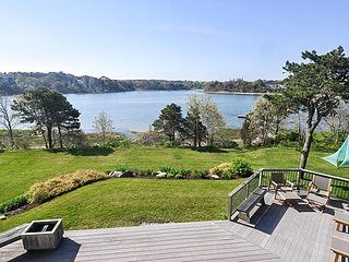 Waterfront & Pet Friendly! Enjoy the warm summer breezes and gorgeous views of R