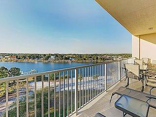New Listing! Intracoastal Waterway Retreat w/ Balconies, Pool, Dock & Beach
