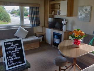 Presthaven Beach Resort North Wales - 3 Bedroom with Direct Beach Access