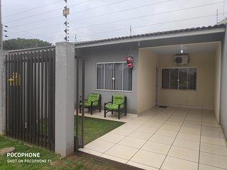 casa presidente 1 fica bem localizada na entrada de foz a 1 km da rodoviaria