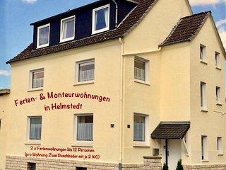Ferienwohnungen in Helmstedt  (2x 68qm, je 2 Duschbader mit WC, je bis 6 Pers.)