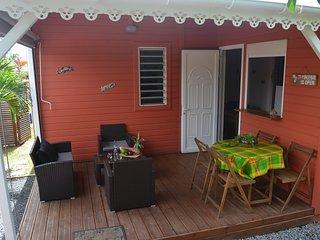 Joli Bungalow pres des plus belles plages de la Guadeloupe