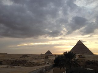 Pyramids View Mixed With 20 Years Hosting Experience