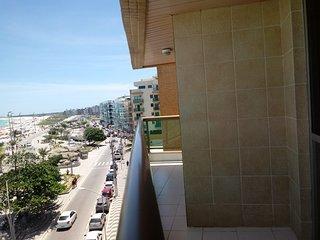 Apartamento de Frente para Praia do Forte!!!