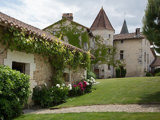 Chateau de Gurat - L'Etable, 3 bedrooms | beautiful grounds | heated pools