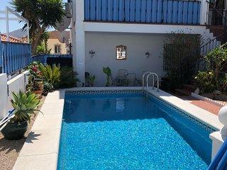 El Escondite, with private pool, garden and terraces
