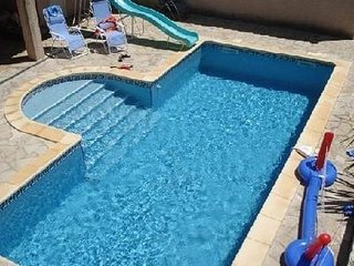 Large Villa, Private Pool, Garden, WiFi, Air Con, Trampoline, Ideal for Children