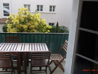 Appartement Mourillon  confortable à l'abri du bruit  avec balcon sud 3 chambres