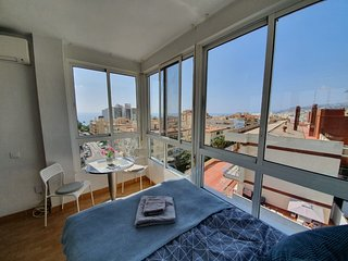 Mini penthouse close to the beach with nice seaviews