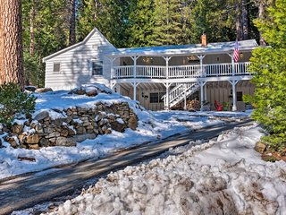 'Strawberry Hill Cabin' 5Min to Dodge Ridge Resort
