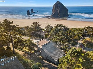 Enjoy Ethereal Views of Haystack Rock From This Remodeled 4 Bedroom Home!