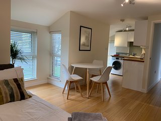 Clean contemporary apartment in Central Cambridge