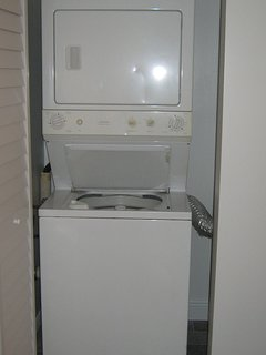 Washer and Dryer in condo.