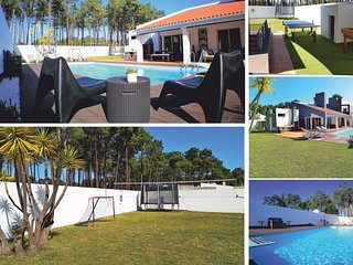 Villa with pool, wi-fi, 5min beaches 20min Lisbon