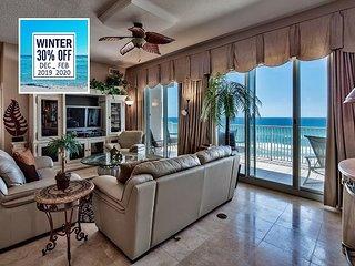 30% OFF Winter: Luxury BEACHFRONT View Condo, Pool *Resort + FREE VIP Perks!!
