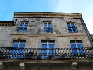 Les Gîtes du château 2 appartements face au château Henri IV