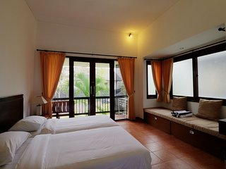 Sayang Sanur Resort Terrace House Room  205 with balcony & kitchen