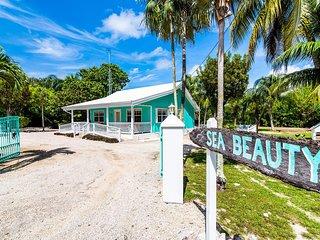 Sea Beauty: ADA-Friendly Island Cottage w/ 300-feet of Private Beach, Hammocks