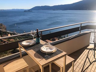 Cesare apartment with amazing lakeview in Verbania Suna