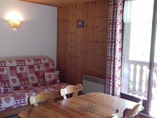 Appartement T2 Lanslevillard 33m2, à 200m des pistes, Résidence le Solert