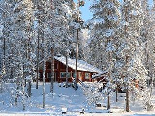 Tiilikka lakeshore cottage in Finnish Lakeland