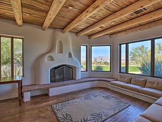 Luxe Adobe Retreat w/Mountain & Golf Course Views!