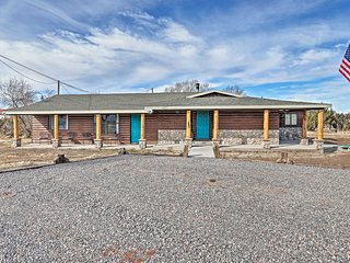 NEW! Eagar Escape: Ranch-Style Home in White Mtns!