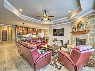 Luxurious College Station Home w/ Pool+Patio!