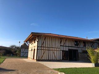 Le Grand Charme - Grande maison de Vacances, Jusqu'à 15 P, au Lac du Der