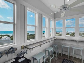Recently Renovated!!100 Yards to Beach/Steps to Seaside/Private Pool/Elevator/Br