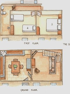 The Dairy - Floorplan