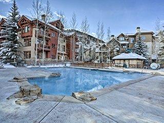 NEW! Cozy Ski Condo w/ Shuttle & Mountain Access!