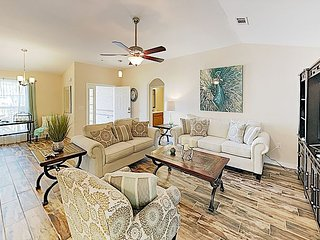 Upscale Custom Home w/ Expansive Great Room & Sprawling Backyard, Near Beach
